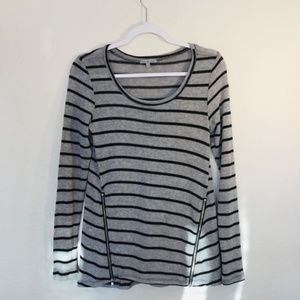 Charolette Russe Zipper Front Sweater